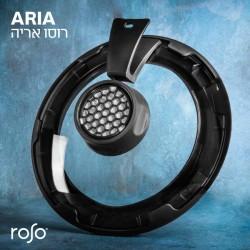 מכסה חכם ARIA רב תכליתי עשוי זכוכית וסיליקון לטיגון ללא ריח