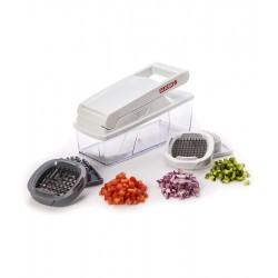 קוצץ ירקות לקוביות סלייסר פרו כולל 2 סכינים