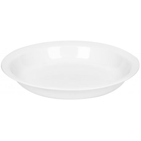 צלחת מרק מסורתית דגם לבן חלק 001 קורנינג