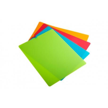 4 לוחות גמישים לחיתך ב ארבעה צבעים