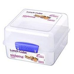 קופסא לארוחה 1.4 ליטר מחולקת כפולה סיסטמה