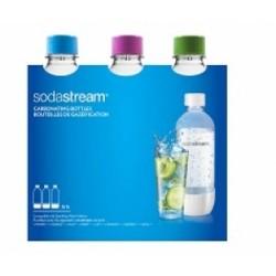 3 בקבוקים לבנים למכשיר סודהסטרים