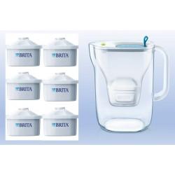 קנקן מטהר מים בריטה מרלה כולל 3 פילטרים