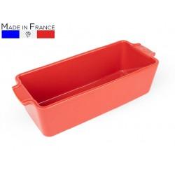 """תבנית פאי 30 ס""""מ קרמיקה צבע אדוםAppolia פג'ו"""
