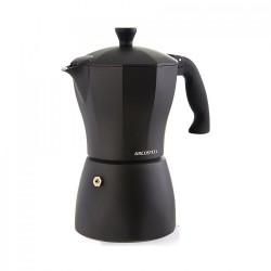 מקינטה 3 כוסות ארקוסטיל שחור/אדום משלוח חינם לנקודת איסוף