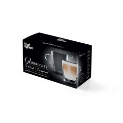 """זוג ספלים דופן כפולה לתה/קפה הפוך 3500 מ""""ל דגם גמיקה"""
