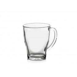 """6 ספלים זכוכית דגם קוזי 350 מ""""ל דורלקס"""