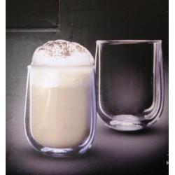 """זוג כוסות דופן כפולה לאספרסו 80 מ""""ל דגם ונצואלה"""