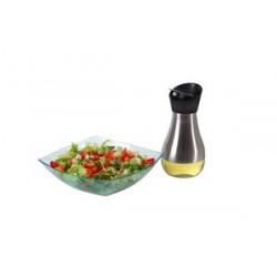 בקבוק לשמן זית זכוכית עם הגנת נירוסטה