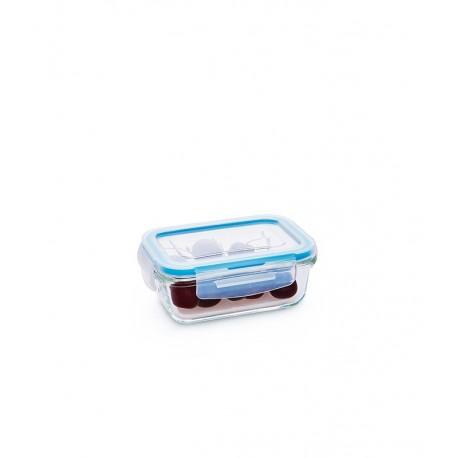 מיכל אחסון זכוכית מלבן 330 קלוק